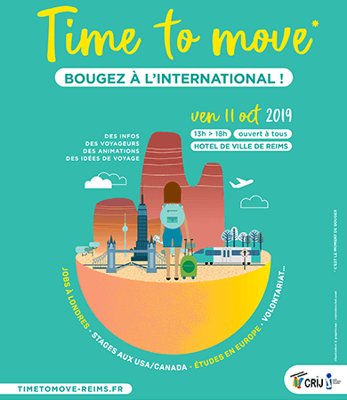 "Forum ""Time to Move"" - Vendredi 11 octobre à Reims"