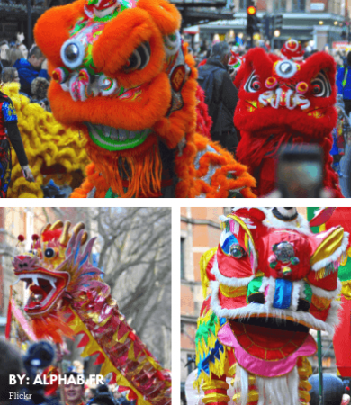 image actualite nouvel an chinois londres